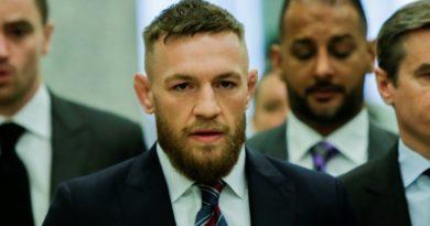 El luchador Conor McGregor, arrestado y acusado de robo