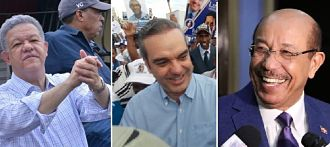 Aspirantes presidenciales RD continúan su proselitismo este fin de semana