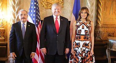 INSEGURIDAD: Trump promete a Medina revisar alerta de viaje de sus ciudadanos a RD