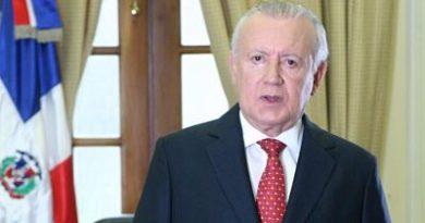 RAFAEL ALBURQUERQUE DICE: comisión del Comité Político no ha concluido informe adecuación estatuto a Ley Partidos