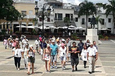 Tres países latinoamericanos en el top ten de mayor flujo de turistas hacia la RD
