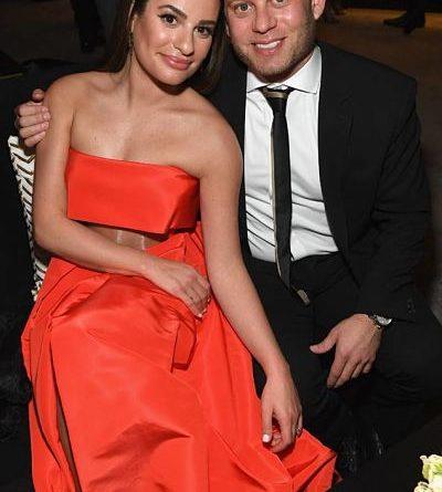 ¡Lea Michele se casó con Zandy Reich!