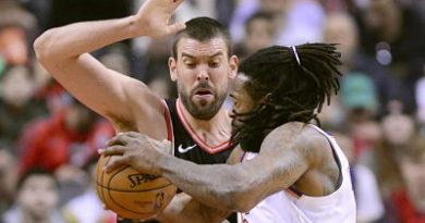 Sin Leonard, Marc Gasol lidera a los Raptors ante los Knicks
