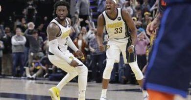 Pacers remontan déficit y vencen a Thunder