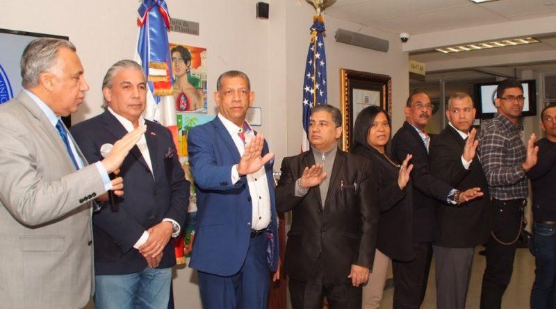 Presidente del COD juramenta nuevos directivos de la Unión Deportiva Dominicana en consulado