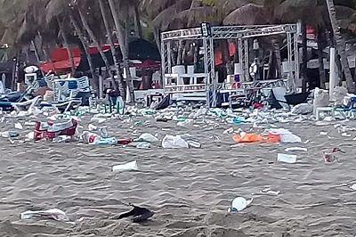 SE ALEJAN LOS TURISTAS: Contaminación generada por visitantes, opaca encantos de destinos de asueto de Semana Santa en RD