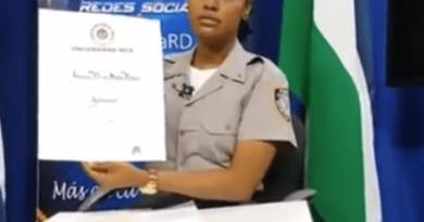 Cabo de la Policía Nacional aclara los motivos de su ascenso a teniente