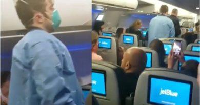 Pasajeros dominicanos y judíos en vuelo de Jet Blue desde RD a NY fueron evaluados en cuarentena por paramédicos