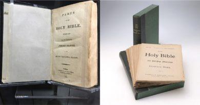 Sociedad Histórica de NY exhibe exposición de biblias antiguas y raras en Semana Santa