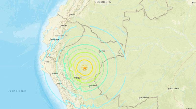 Un sismo de 8,0 sacude Perú y se siente en Ecuador, Colombia y Brasil