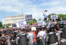 """ATENCIÓN: Los peregrinos por el """"respeto a la Constitución"""" fueron al Congreso"""