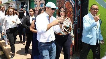 MUY BIEN: Vicepresidenta pondera transformación de Santiago