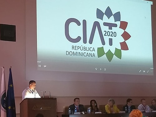 República Dominicana será la sede Asamblea General CIAT 2020