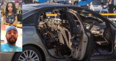 Guyanés quema viva a su hija de tres años encerrada en carro cuando intentó suicidarse