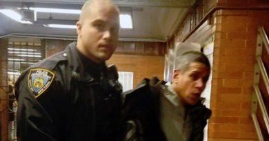 Un desamparado dominicano arrestado con dos hachas, cuchillos, tubos y gas pimienta en estación del Metro