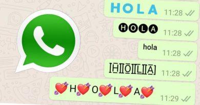 WhatsApp: así puedes cambiar la tipografía a tus conversaciones