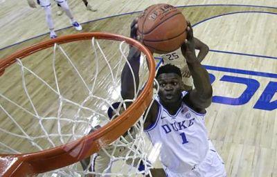 Zion Williamson no está conforme con Lotería del Draft de la NBA