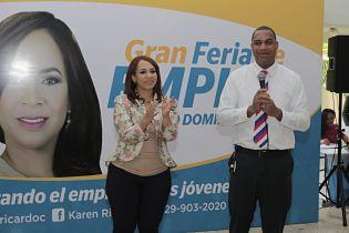 CON GRAN ÉXITO CONCLUYE: Gran Feria de Empleos organizada por Karen Ricardo
