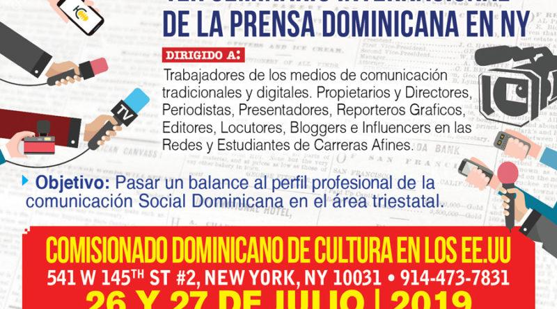 SDQ realizara Seminario sobre Prensa en NY