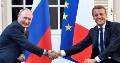 Emmanuel Macron propone a Vladímir Putin una cumbre para resolver la crisis ucraniana