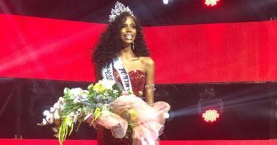Representante de Punta Cana resulta ganadora en certamen de Miss República