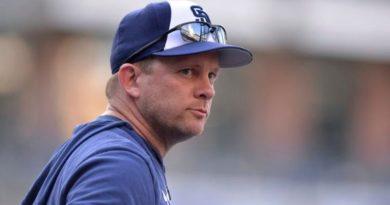 Padres de San Diego despiden al manager Andy Green