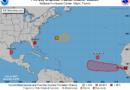 Otra que se forma la tormenta tropical Gabrielle en el Atlántico; te decimos si presenta peligro para RD