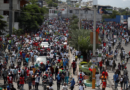 """Los haitianos salen a la calle para denunciar la """"injerencia"""" internacional"""