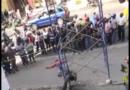 En Herrera, 3 mueren calcinados tras los andamios hacer contacto con el Tendido Electrico
