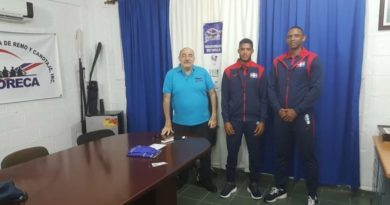 El remero dominicano Vásquez busca en Chile pase a Tokio 2020