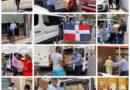 Entregan cientos de cajas a dominicanos en Las Islas Canarias