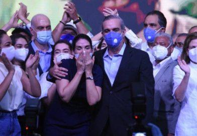 Luis Abinader es el virtual ganador de las elecciones con más del 53%