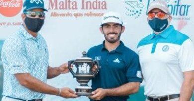 Juan José Guerra se corona en campeonatos de golf