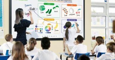 """Pantalla Flip 85"""", nuevo aprendizaje #SDQPeriodicodominicano"""