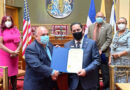 Cónsul Jáquez recibe proclama de la ciudad de Newark en Nueva Jersey   #SDQPeriodicodominicano